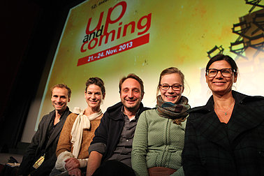 up-and-coming 2013 Deutsche Jury