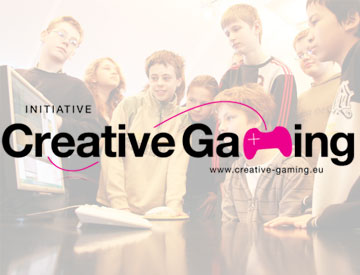 Logo der Initative Creative Gaming