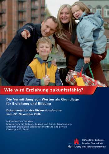 Cover der Dokumentationsbroschüre Familienforum