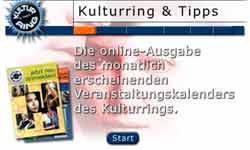 Website des Kulturrings